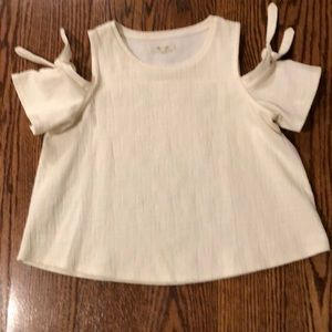 Madewell cold shoulder tee